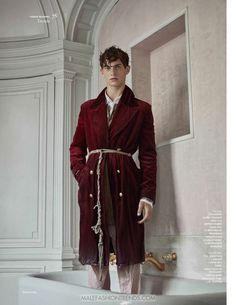 Luc Defont Saviard por Thomas Goldblum para Vogue Hommes Fall-Winter 2016