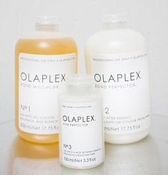 The three-step programme works by repairing bonds within the hair shaft, known as disulphide bonds