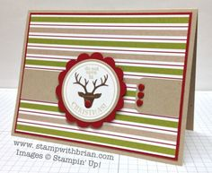 Very Merry Tags, Stampin' Up!, Brian King, FMS111