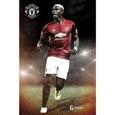 GB Eye Manchester United Pogba Maxi Poster, Mehrfarbig, 61 x cm Manchester United Fans, Paul Pogba Manchester United, Football Drills, Football Icon, Neymar E Messi, Soccer Inspiration, Soccer Poster, Man United, Sports Stars