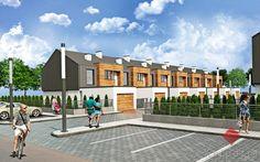 Nowy dom w zabudowie szeregowej, Rzeszów