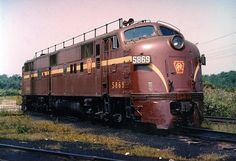 Diesel Locomotive | Class EP20 E7A Diesel Locomotive No. 5869 - Pennsylvania Railroad ...