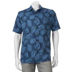 Men's Croft & Barrow® Printed Button-Down Shirt, Size:
