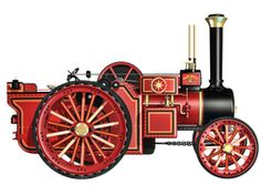 Steam Engine 03 PNG Stock by Roys-Art