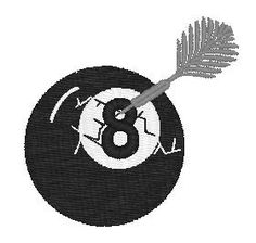 Pool Ball Embroidery Designs, Free Machine Embroidery Designs at EmbroideryDesigns.com All Design, Free Design, Free Machine Embroidery Designs, Magazine Design, Superhero Logos, Graphic Art, Patches, Quilts, Art Prints