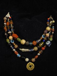 Viking beads by TheLancreWitch, via Flickr