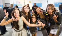 Fifth Harmony. Taking about them today...love the x factor...the top 3 are all very talented