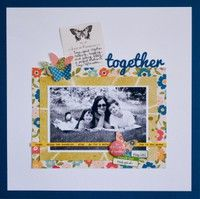 A Project by Vivian Masket from our Scrapbooking Gallery originally submitted 03/20/12 at 10:29 AM