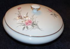 Fine China of Japan Golden Rose MSI Vegetable Serving Bowl with Lid MINT! #FineChinaofJapan