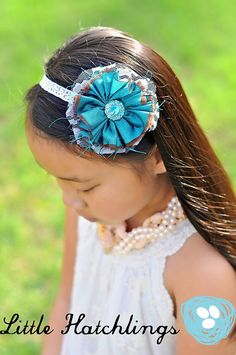Items similar to teal turquoise flower hairband headband hair clip girls infants toddlers baby photo props photography on Etsy Turquoise Flowers, Toddler Headbands, Headband Hairstyles, Handmade Flowers, Baby Accessories, Photography Props, Hair Pieces, Hair Band, Fabric Flowers