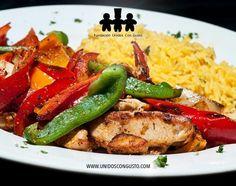 Un almuerzo es mas rico si puedes tambien apoyar a una fundación de tu preferencia. Www.unidoscongusto.org lo hace posible
