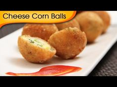 Cheese Corn Balls | Quick Easy To Make Party Appetizer Recipe By Ruchi Bharani