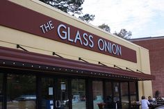 The Glass Onion, Charleston, SC ~ local food with ever changing menu. Featured on Drive-Ins, Diners & Dives. One of our favorite restaurants in Charleston!!