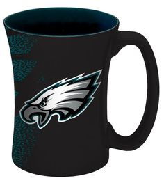 Philadelphia Eagles Coffee Mug - 14 oz Mocha