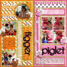Crystal Palace - Tigger & Piglet by Hummie