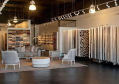 Stark Home LA Showroom, for designer selections of carpets, rugs, fabrics, and wallcoverings. #StarkTouch #InteriorDesign #DesignInspiration