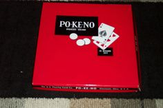 Vintage PoKeNo Poker Game w/ 12 Card Boards by rosiestreasuretrove. $25.00, via Etsy.