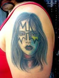 Bildresultat för ace frehley tattoo Kiss Tattoos, Kiss Band, Ace Frehley, Hot Band, Best Web, Portrait, God, Tattoo, Dios