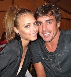 Fernando Alonso y Dasha Kapustina disfrutan de unos días de descanso en Asturias #f1 #sports #model
