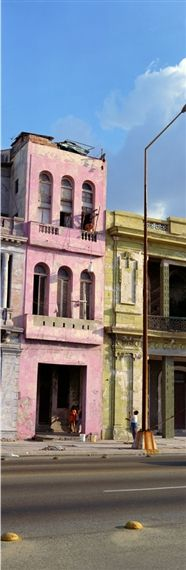 Wim Wenders, 'The Pink Building, Havana,' James Cohan Gallery Pink Photo, Havana Cuba, Hotel Interiors, Pink Design, Pink Art, International Artist, Small Island, North America, Caribbean