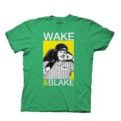 Workaholics Wake & Blake Green T-Shirt