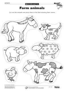 Animal worksheets, farm animals preschool, farm animal crafts, farm animals f Farm Animals Preschool, Farm Animal Crafts, Animals For Kids, Farm Activities, Animal Activities, Cutting Activities, Farm Animals Pictures, Printable Animal Pictures, Farm Lessons