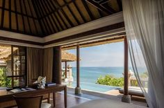 Outdoor - Four Seasons Resort Jimbaran Bali #LuxuryBeddingOceanViews