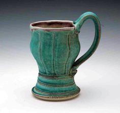 Fluted Mug by GertrudeGrahamSmith on Etsy, ceramic