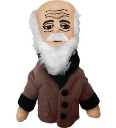 Charles Darwin - wikipedia page (Finger Puppet from Philosophers Guild)