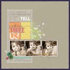 Melissa Hill Digital Scrapbook