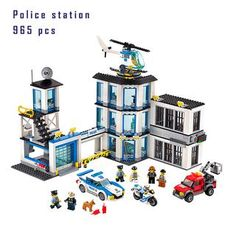 City Series 965 Pcs Police Station Building Blocks