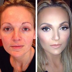 Celebrity makeup artist Mario Dedivanovic (who works with Kim Kardashian) can completely transform people with makeup. Take, for example, the before-and-after photos he posted recently of this makeover. Click through for his best beauty tips and tricks. | allure.com