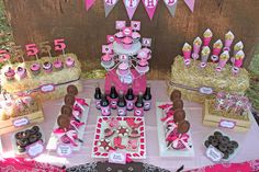"""Photo 7 of 39: Cowgirl / Birthday """"Tessa's Cowgirl Party"""" 