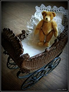 Teddy in a Carriage