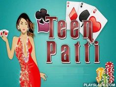 Teen Patti: Indian Poker  Android Game - playslack.com , compete poker with your buddies, other players all over the world or AI. Get winning collections of cards. Each paper table of this Android game can have up to 5 players. You can select any table in the communal area and compete there or you can create an independent area and arouse your buddies. attempt to get road or flash to overpower your oppositions. However, you can get fortunate and get 2 or 3 same cards. Take hazards, deceit…