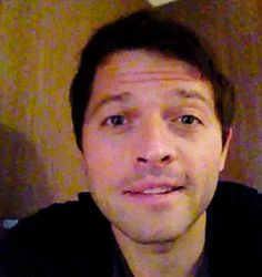 In case you are having a bad day here is Misha to make you feel better :)