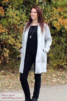 Sprawdź jak uszyć prosty płaszcz na jesień (eti blog o szyciu)
