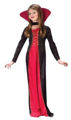 When your child is ready to take an old school vampire look to your Halloween, go with this Victorian Vampiress Costume for Girls! She'll poised and ready to have a fun and safe Halloween! Kids Costumes Girls, Halloween Costumes For Girls, Girl Costumes, Halloween Kids, Halloween Vampire, Best Kids Costumes, Halloween 2014, Adult Costumes, Tween Girls