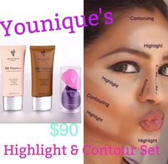One of my favorite makeup techniques - easy and quick! www.youniquebykeely.com