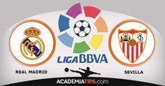 A Tua Aposta Ganha - Real Madrid vs Sevilla: O jogo entre o Real Madrid e o Sevilha é um jogo em atraso para a Liga Espanhola, que em vésperas de dérbi... http://academiadetips.com/equipa/a-tua-aposta-ganha-real-madrid-vs-sevilla/