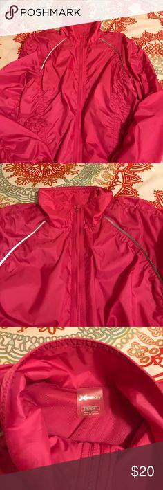 Pink Spring Jacket NWOT Small Xersion  Spring Jacket ~ Pink. NWOT🌸. 100% Polyester. Adorable jacket‼️. Armpit to sleeves 19 inches. 💜BUNDLE AND SAVE💜 Jackets & Coats Utility Jackets