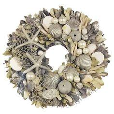 Tropical Christmas Wreath | Beach- Christmas | Pinterest ...