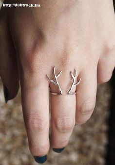 #ring #jewelry #fashion antlers ring  #women http://www.lvlv.com/ring-c-6