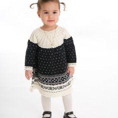 DG208-04 Fana kjole | Dale Garn Tights, Leggings, Jumpers, Tunic, Threading, Navy Tights, Jumper, Panty Hose, Pantyhose Legs