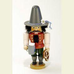 Nutcracker Bavarian glazed - 17,5cm / 7 inch