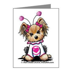 Yorkie love card