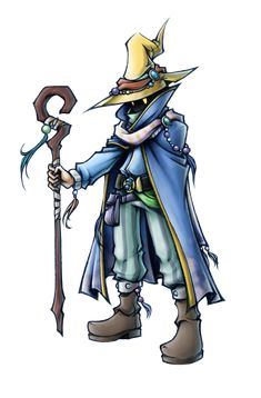 Dissidia: Black Mage of Light by ~isaiahjordan on deviantART