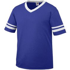 This shirt is preferred for the contrast colors on the v-neck collar and  set-in sleeves with stripes. cotton jersey knit Contrast color rib-knit  v-neck ... be260255b