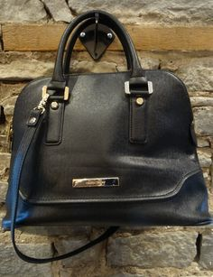 Ivanka Trump Black with Gold Hardware Bag