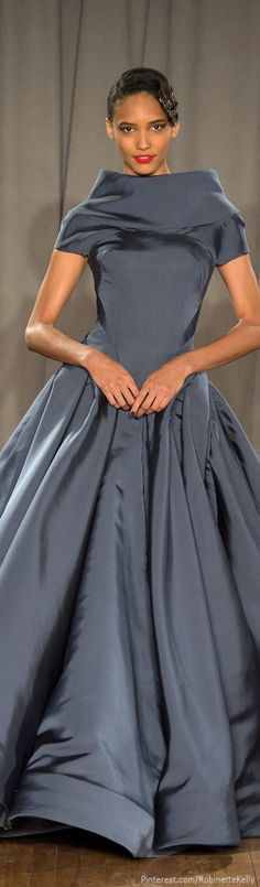 Zac Posen | F/W 2014 RTW. A stunning gown.